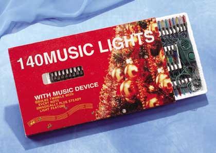 musical christmas lights 140 sku 25834