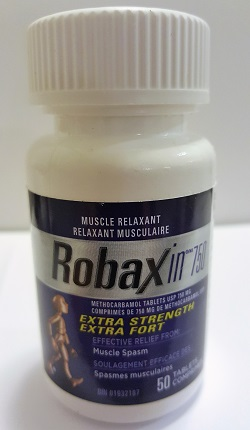 Robaxin Muscle Relaxer